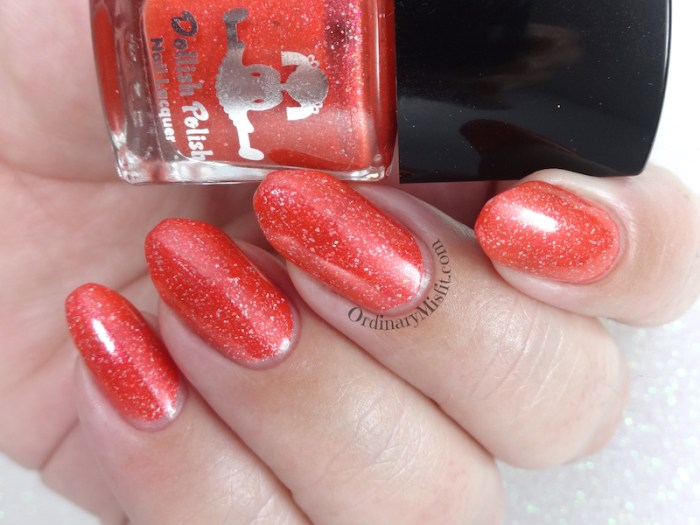 Dollish Polish - A heart two sizes too small