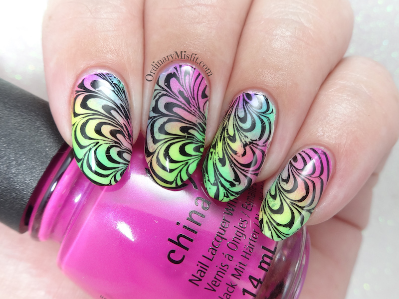 Polished Pretties monthly mani - the 70's!