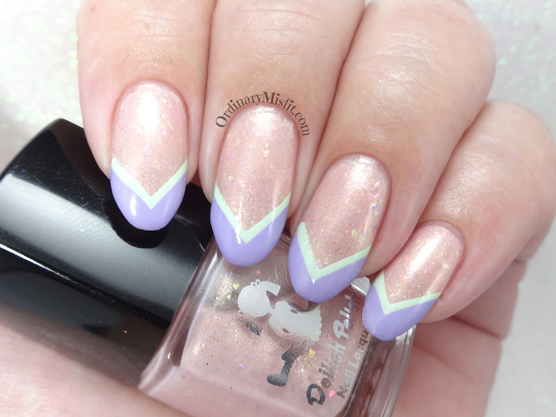 52 week nail art challenge - Week 11: Chevron