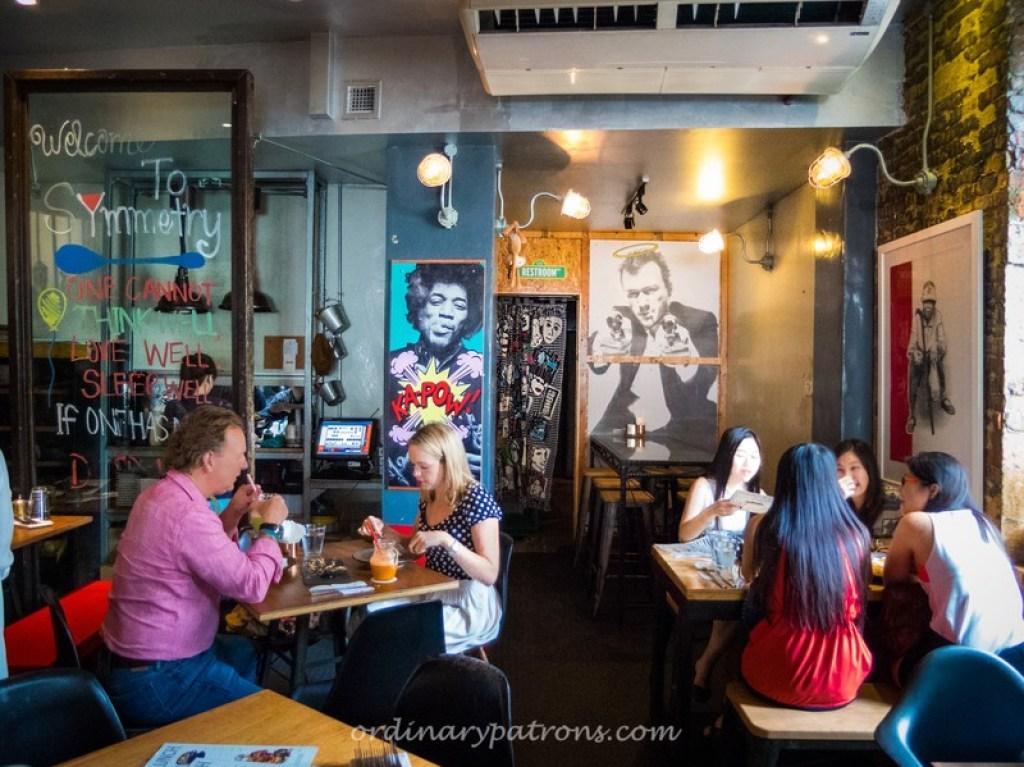 Symmetry Cafe & Restaurant Bar at Jalan Kubor