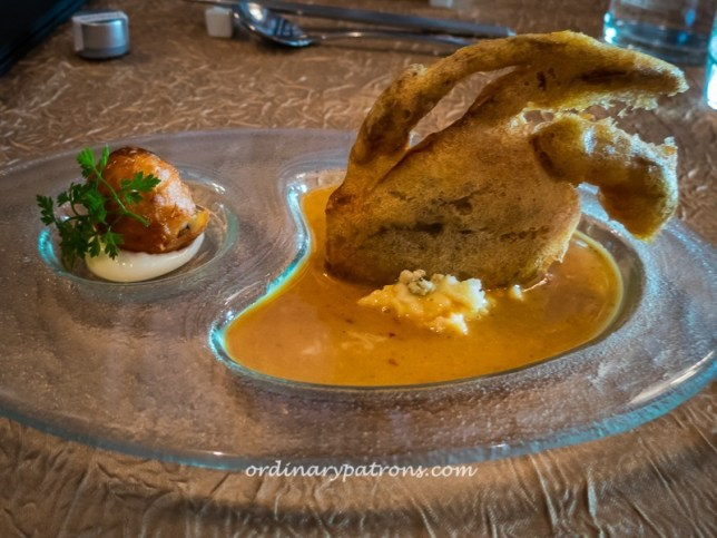 Tempura Espuma Soft Shell Crab, The Clan
