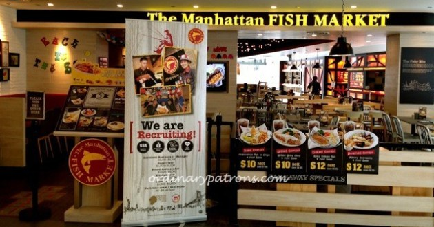 Manhattan Fis Market, Dining Edition, Marina Square