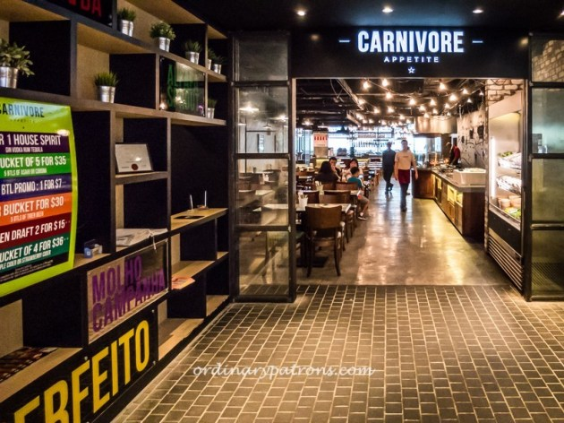 Carnivore Appetite, Dining Edition, Marina Square