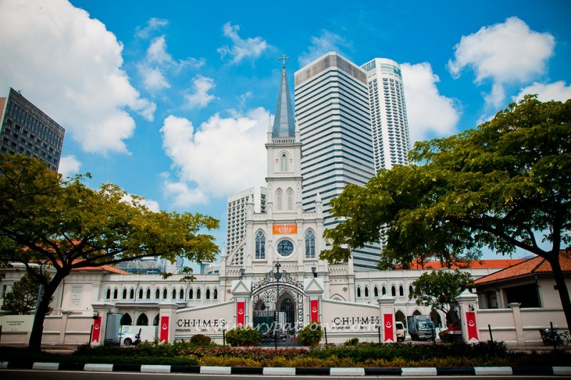 Chijmes Is A Cloistered Fu0026B Oasis In The Heart Of The City Of Singapore.  The Former Location Of The Convent Of The Holy Infant Jesus Had Embarked On  A $45 ...