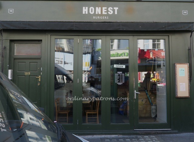 Honest Burger Nottinghill London6
