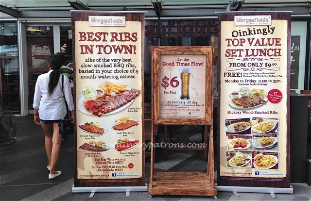 Morganfield's home of sticky bones Star Vista Singapore2