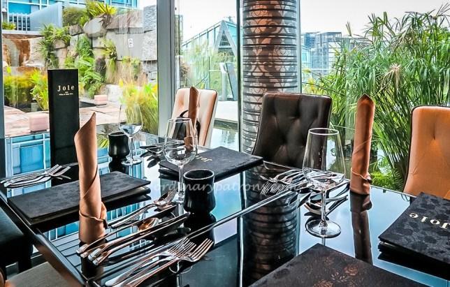Joie Vegetarian restaurant in Singapore