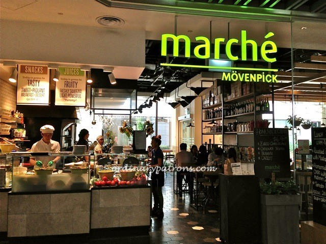 Top value meal at Marche Movenpick