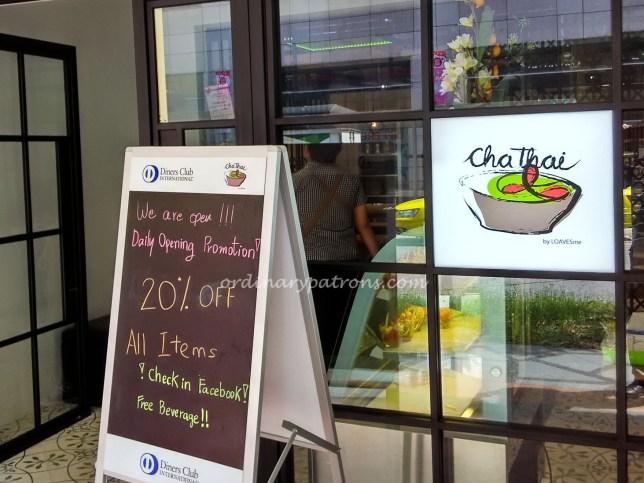 Cha Thai restaurant Telok Ayer
