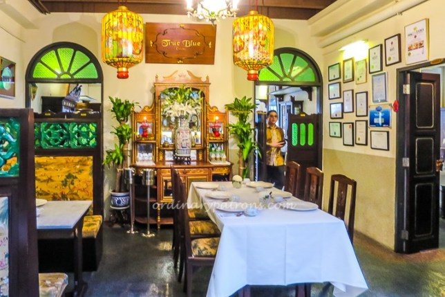 True Blue Peranakan Cuisine