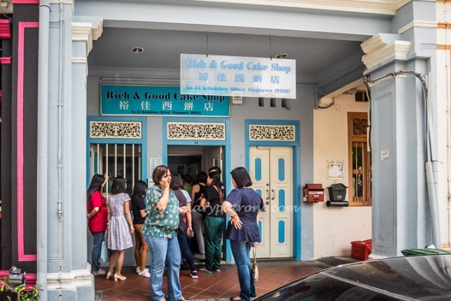 Rich & Good Cake Shop in Kampong Glam