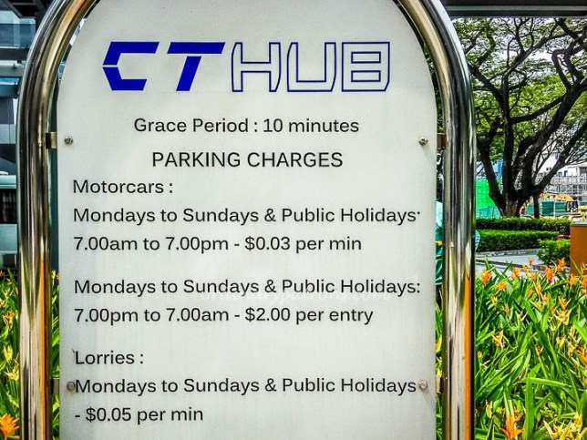 CT Hub Car Park Rates