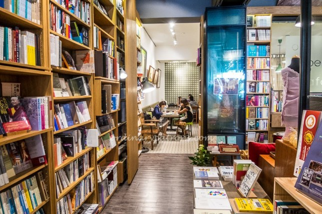 Open Book Cafe at Bukit Pasoh