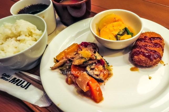 Eating in Cafe & Meal Muji Nagoya