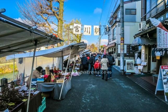 Hida Takayama Miyagawa Morning Market