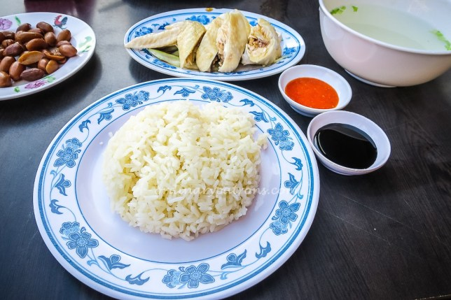 5 Star chicken rice in Katong