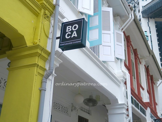 Boca Restaurant at Outram Park