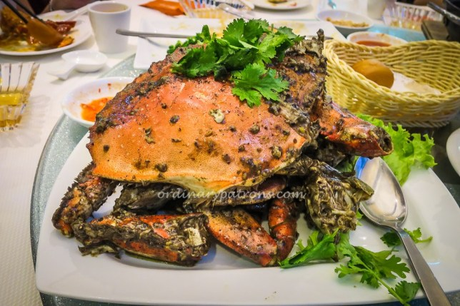Jumbo Seafood - Black Pepper Crabs