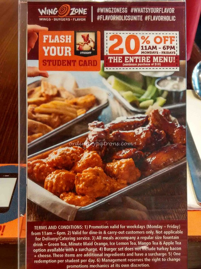 Wing Zone Singapore at Bugis+