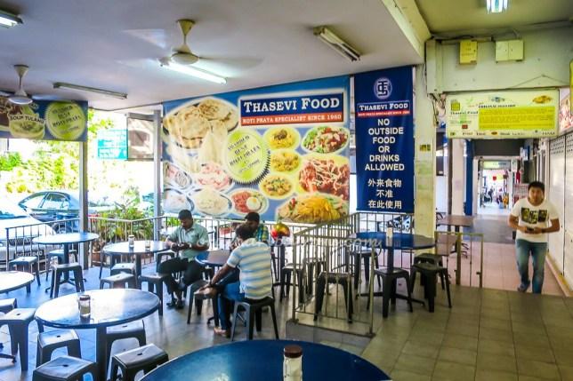 Original Jalan Kayu Roti Prata