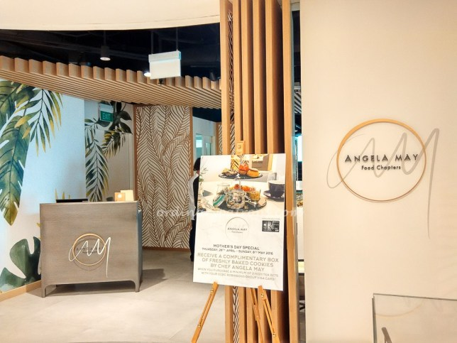 Angela May Food Chapters - new restaurant at Robinsons The Heeren