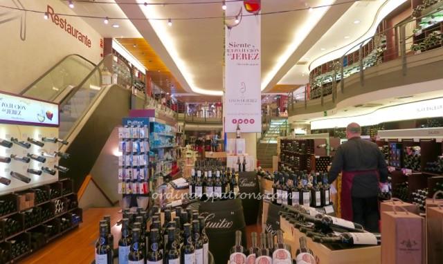 Lavinia Madrid - Wine shop, tapas bar, restaurant - 1
