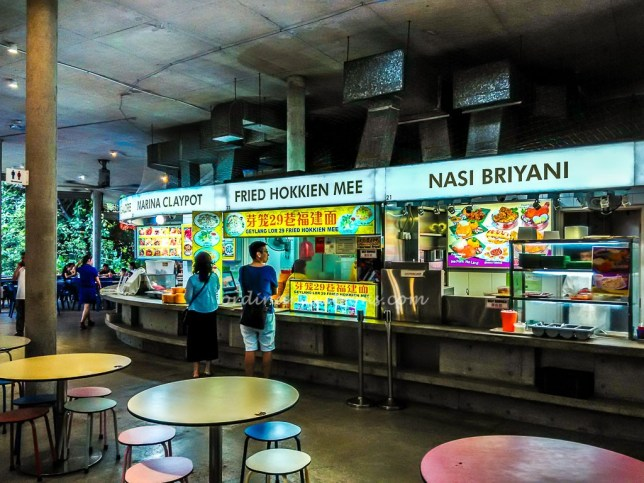 Food Centre at Satay by the Bay