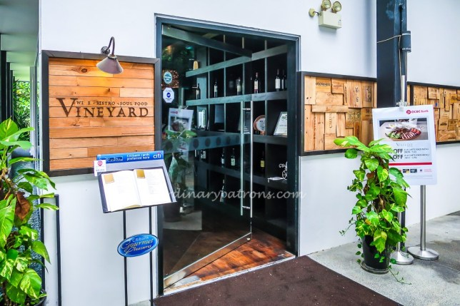 Vineyard Bistro at Hort Park