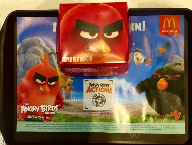 McDonald's Angry Bird Burger Jem - 2