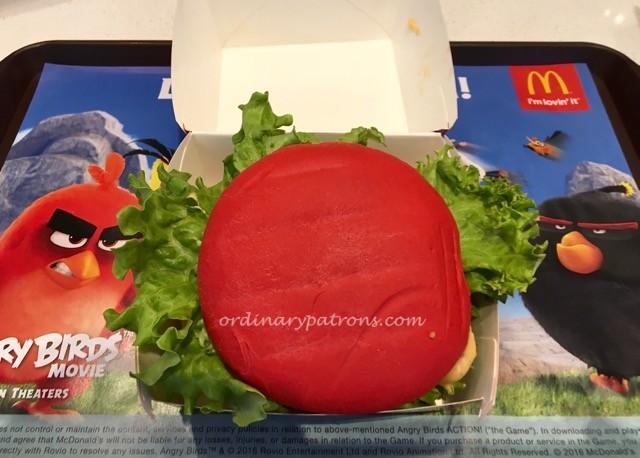 McDonald's Angry Bird Burger Jem - 3