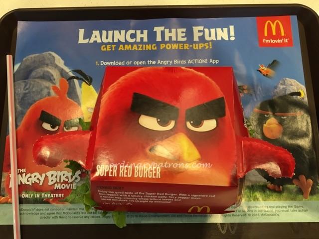 McDonald's Angry Bird Burger Jem - 4