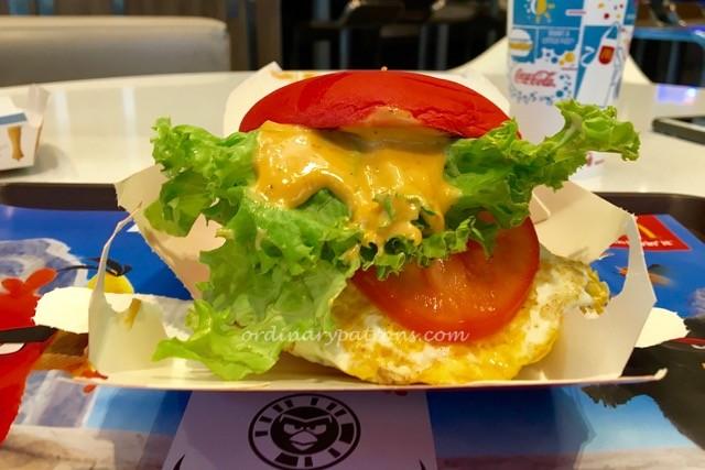McDonald's Angry Bird Burger