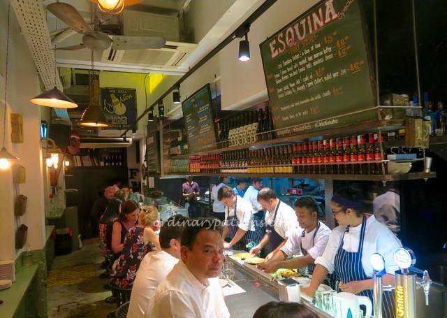 Esquina Spanish Restaurant Singapore
