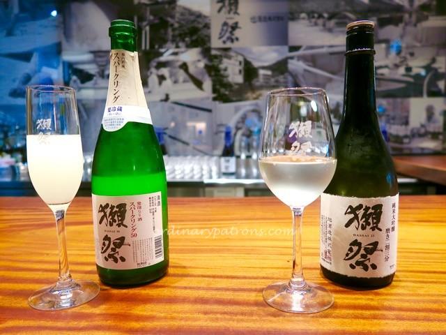 Japan Food Town, Wisma Atria Dassai Sake Bar - 6