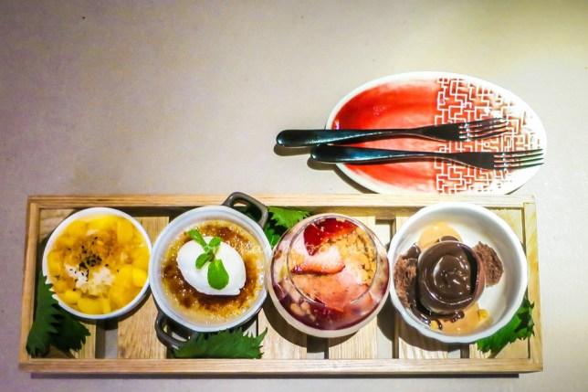 Beast & Butterflies M Social desserts Platter