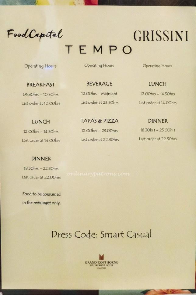 Food Capital & Tempo