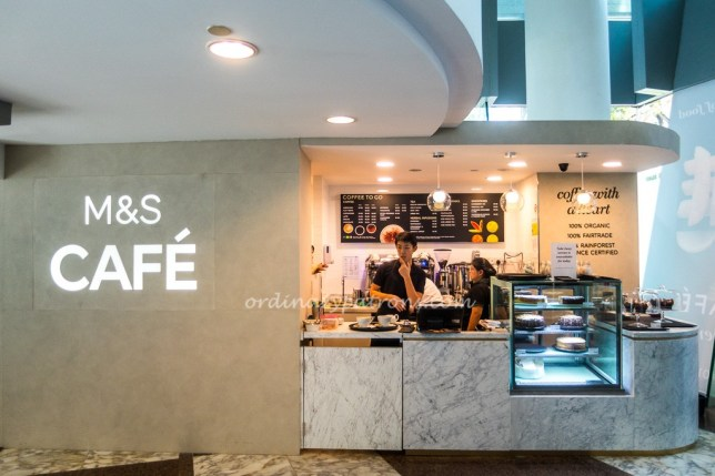 Marks & Spencer Cafe