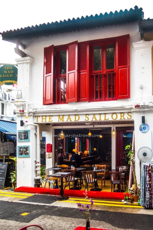 The Mad Sailors - British Kitchen 24 Haji Lane