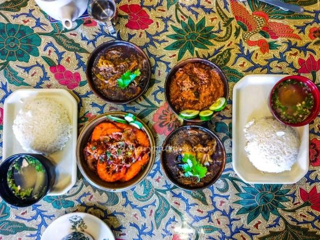 Tok Panjang Peranakan Rice Set