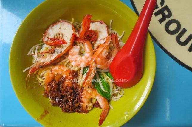 Jalan Sultan Prawn Noodles Dry