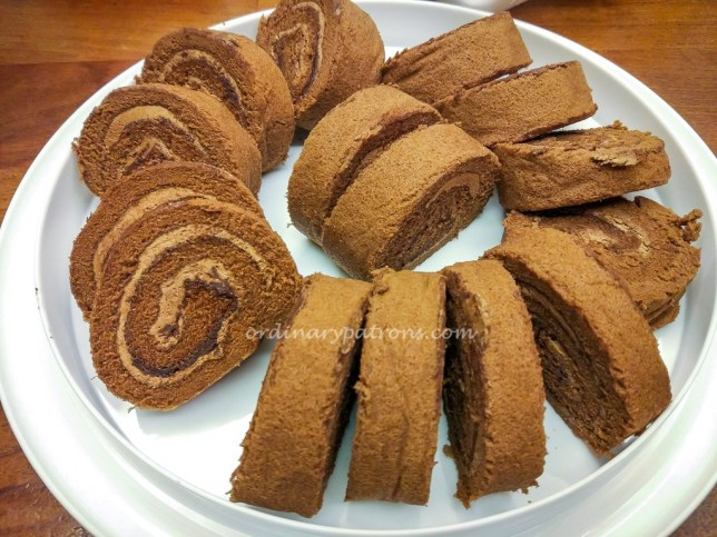 Rich and Good Cake Shop Chocolate Swiss Roll