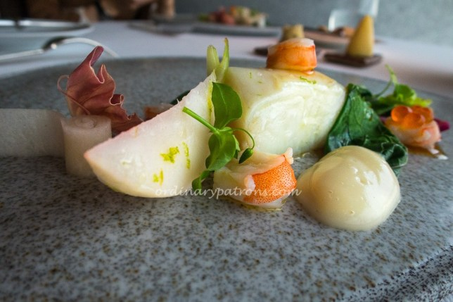 Arctic Char with Japaneses Turnip at JAAN Restaurant