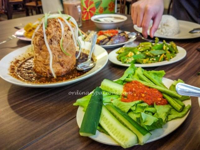 Hjh Maimunah traditional Malay Kampong Cuisine