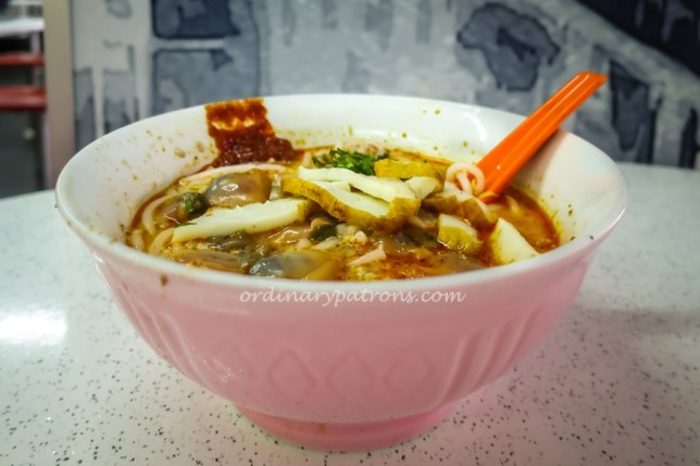 Sungei Road Laksa - cheap and good