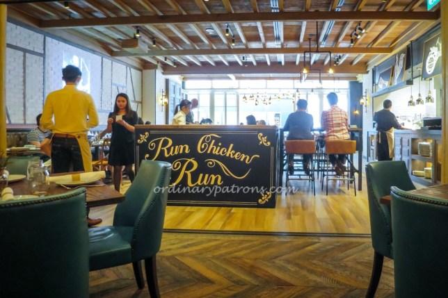 The Bird Southern Table & Bar at Marina Bay Sands