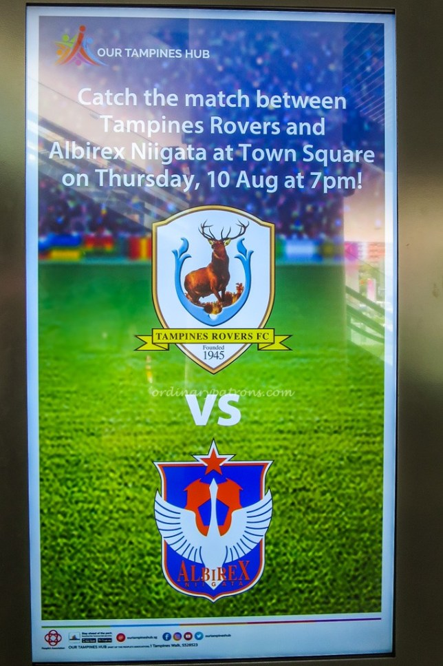 Tampines Rovers - Our Tampines Hub