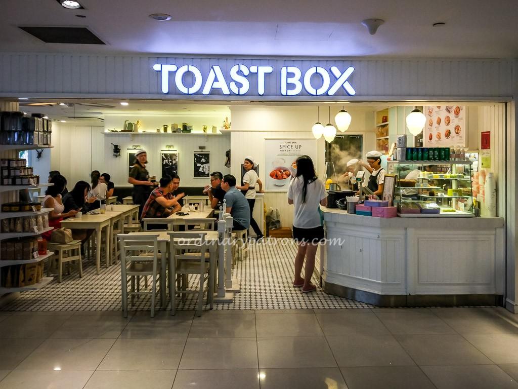 Toast Box at Lavender