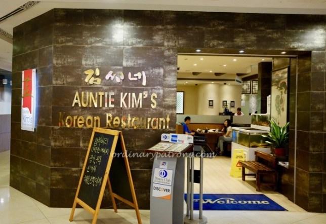 Auntie Kim's Korean Restaurant