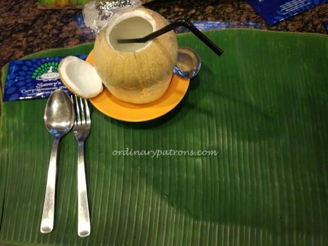 Samy's Curry Banana Leaf Meal