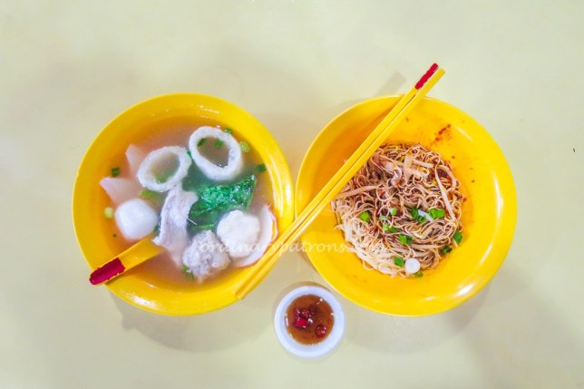 Teochew Hand Made Squid Ball at Telok Blangah Crescent
